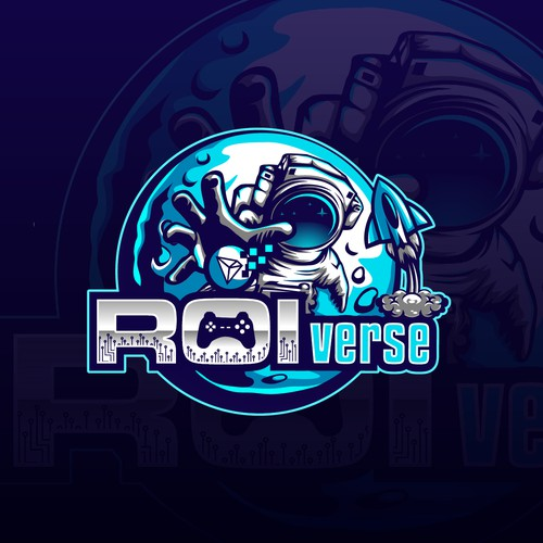 Space logo for ROIverse!