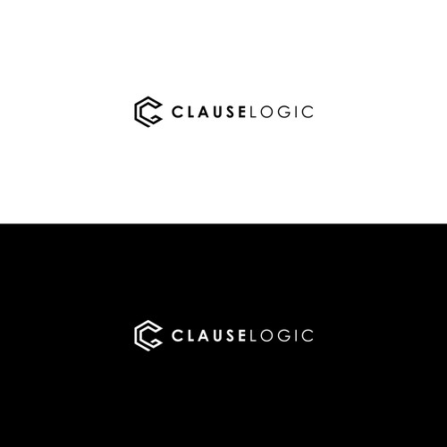 simple monoline logo
