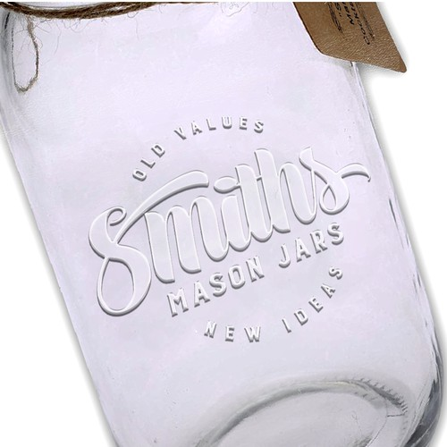 Logo design for Smiths - Mason Jars