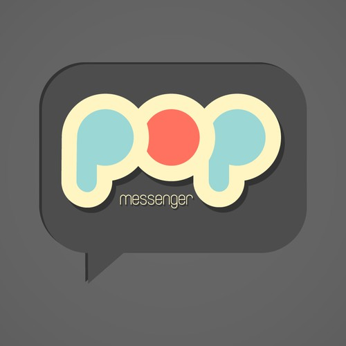 POP Messenger Logo Redesign