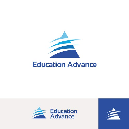 Logo concept for Education Advance