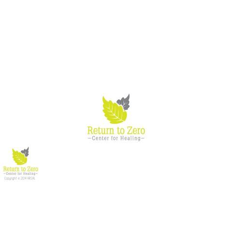 Create a elegant logo for a Center for Healing