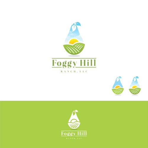 Logo Design for Foggy Hill Ranch