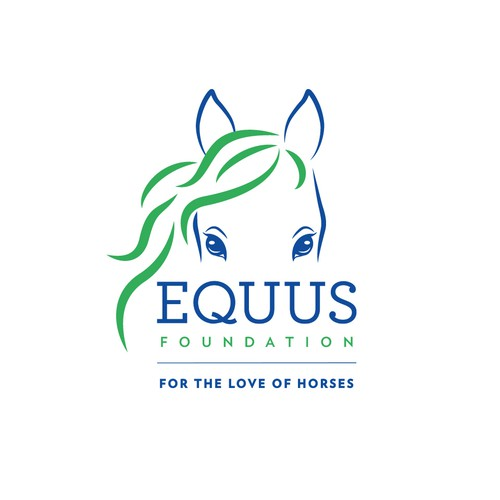 logo for EQUUS foundation