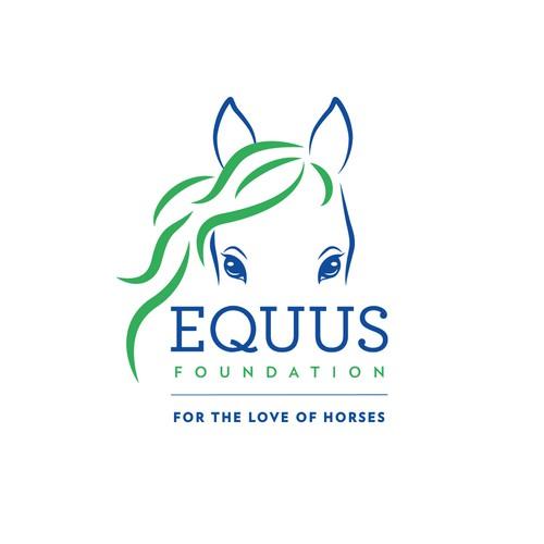 logo for EQUUS foundation