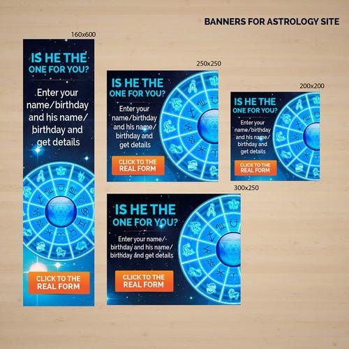 Astrology Web Banner