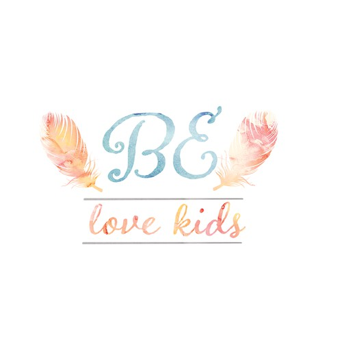 create an attractive logo for a new online baby/kids clothing boutique