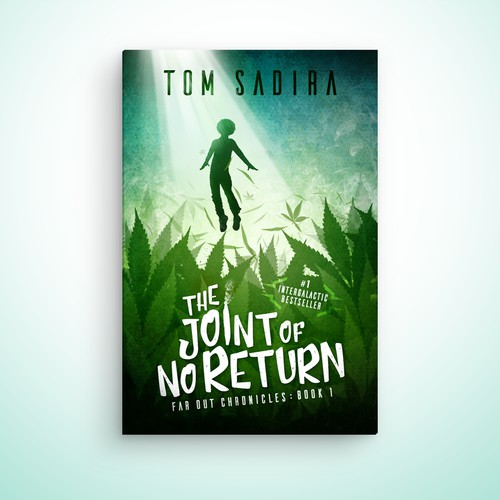 Dope book cover design for Tom Sadira