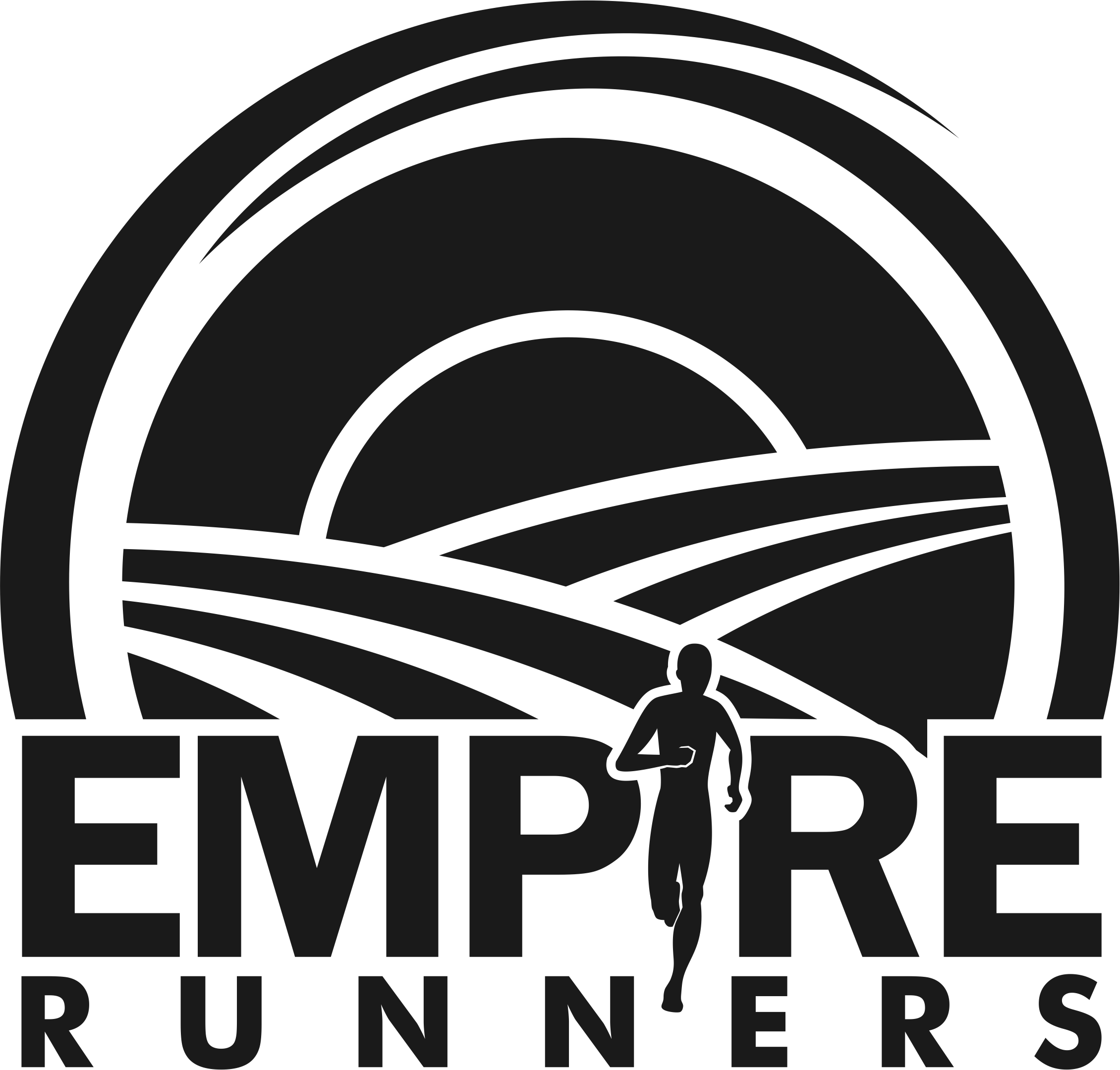 Needed: logo for running club in gorgeous wine country and redwoods