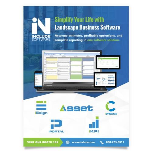 Business Software Flyer
