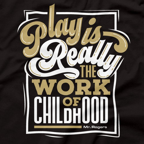 Kids' slogan tee - Fun typography + illustration project!