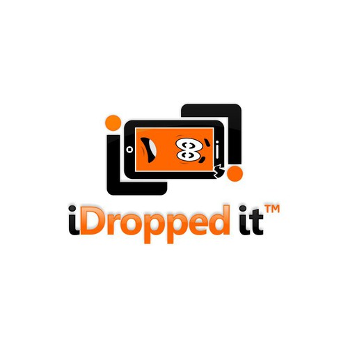 I dropped it Logo