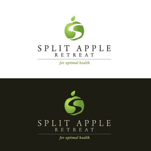 Split Apple Retreat Needs A Company Logo