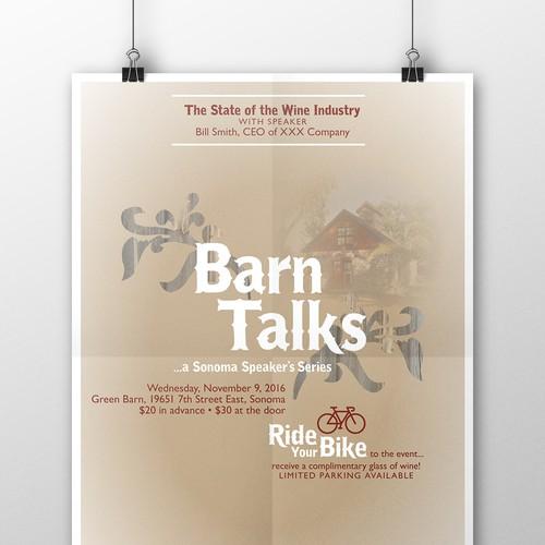 Barn Talks | Poster Design