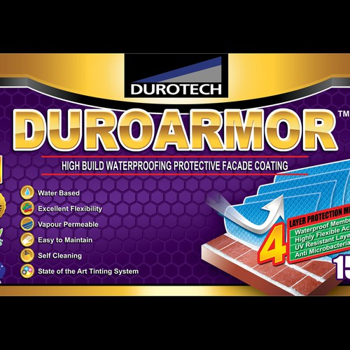product label for Durotech Industries