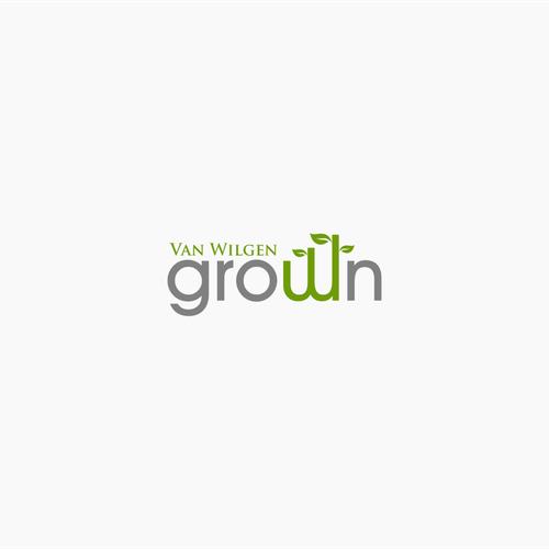 Logo Concept for Van Wilgen Grown