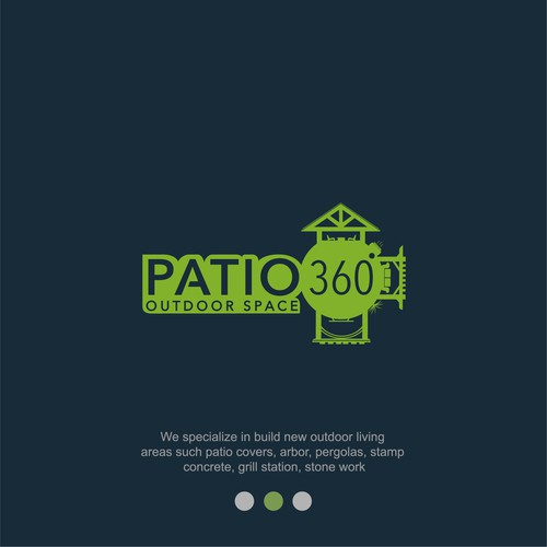 logo concept for patio