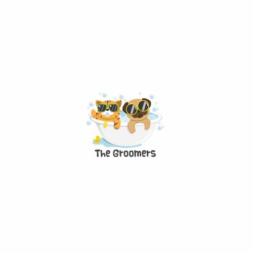 The Groomers Winning Logo