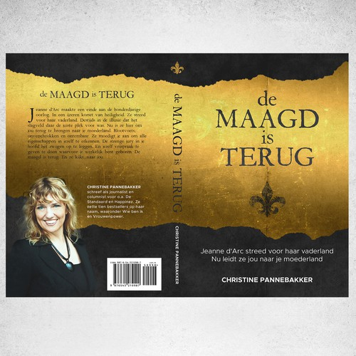 Book cover for de MAAGD is TERUG
