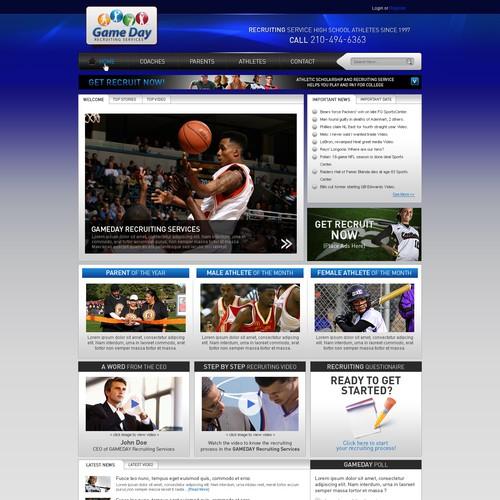GameDay Website