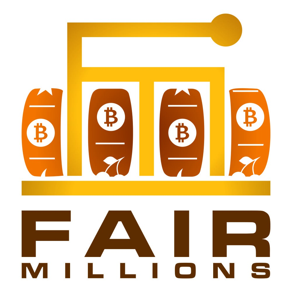 New logo for Fair Millions - Bitcoin Lotteries