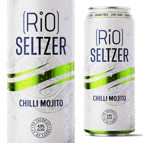 Seltzer Drink Label Design