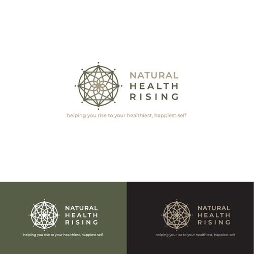 Logo Design - Natural Health Rising