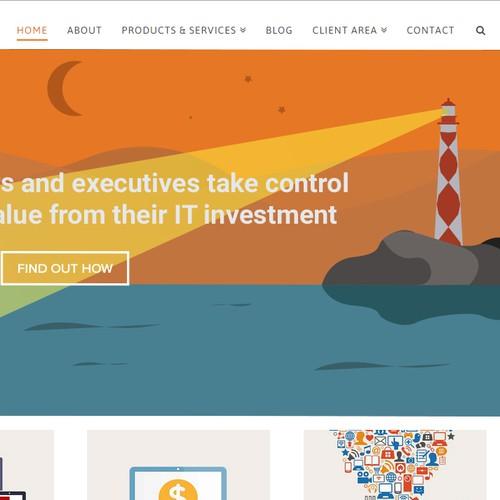 Splash banner for new website - illustrations wanted :-)