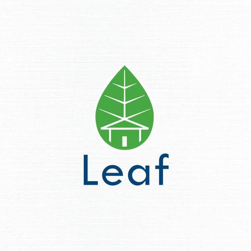 Logo Design for Leaf - Sente Mortgage Flyer System