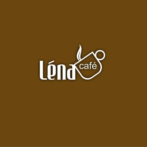logo pour un nouveau café à New York