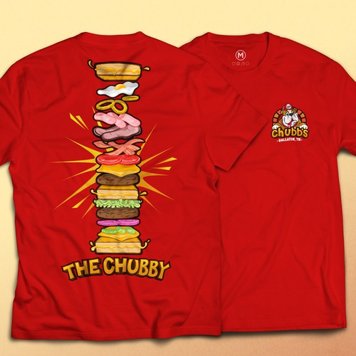 Burger design for Chubb's
