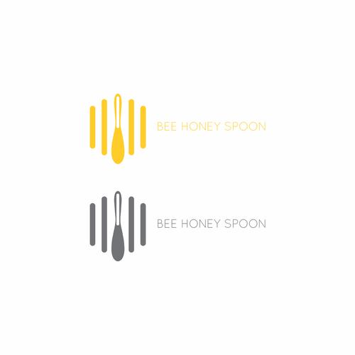 Bee Honey Spoon