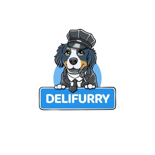 Adorable Dog Logo for a Pet Transportation Business