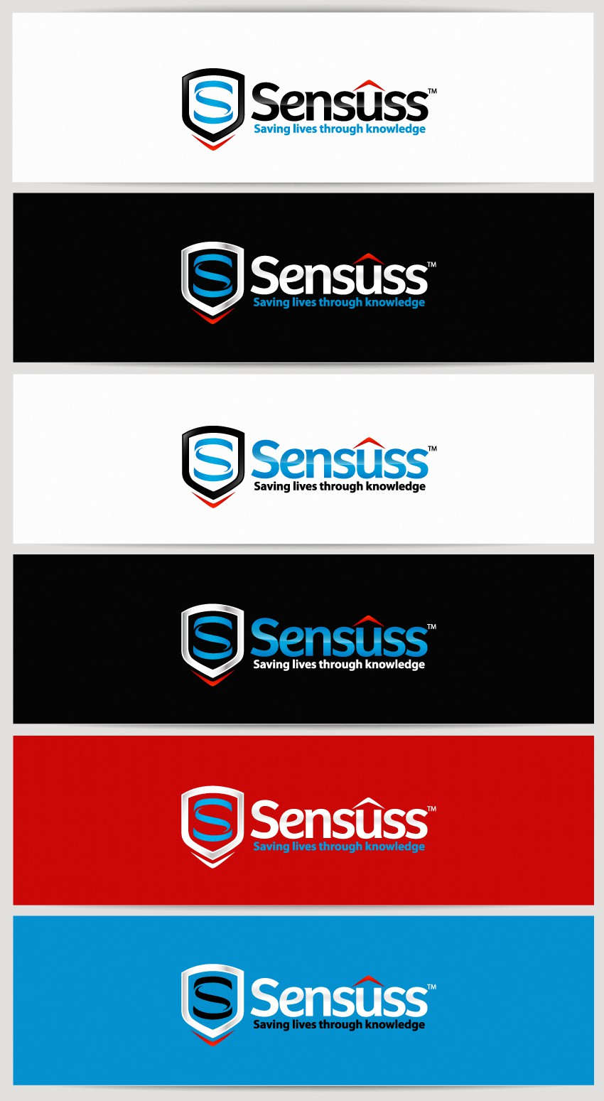 """New logo wanted for Our company name is Sensuss, but we would like a unique """"S"""" as our logo."""