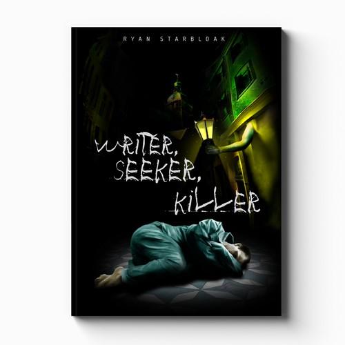 Cover design concept for horror book