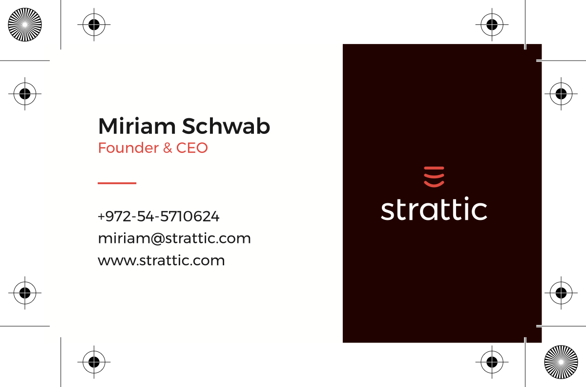 Strattic business cards