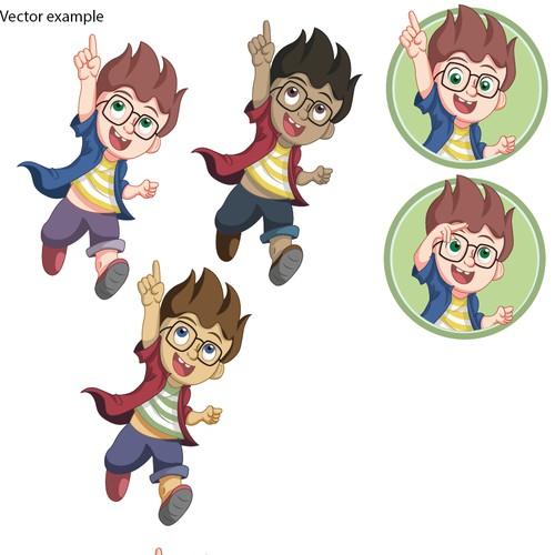 Nico Mascot Character Design