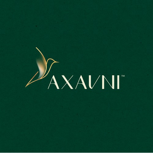 axavni logo brand