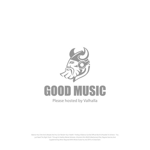 Logo Concept for Good Music