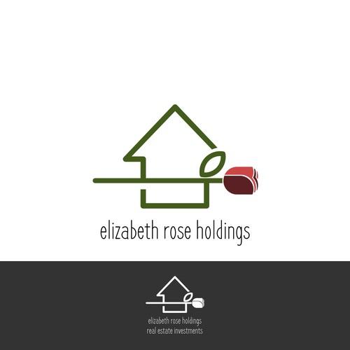 Logo concept for elizabeth rose holdings