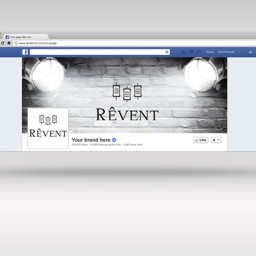 Facebook cover for REVENT