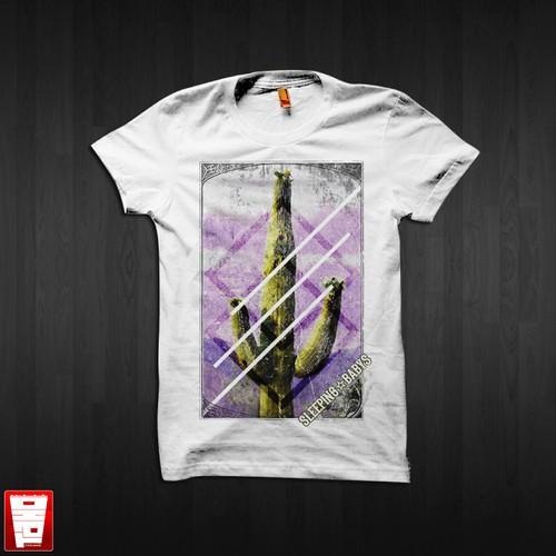 T-shirt design for Sleeping Babys