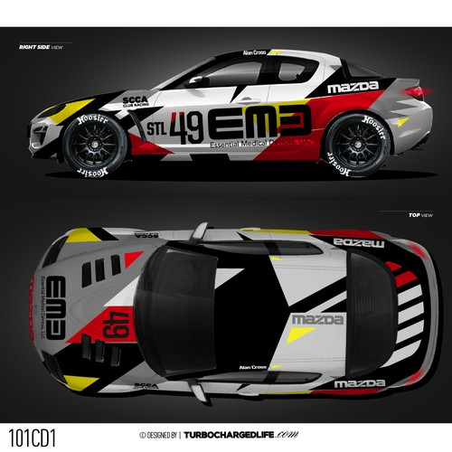 Mazda Rx8 Race Car Livery