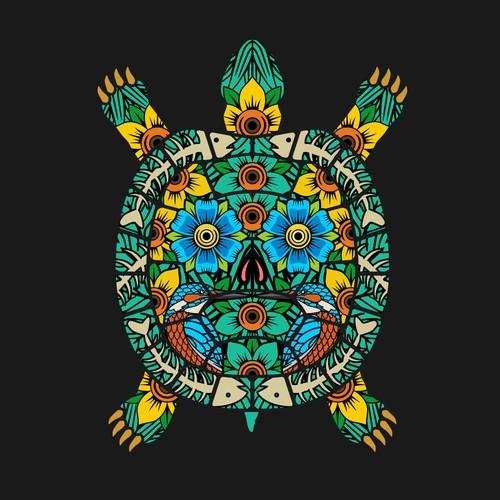 Turtle Illustraion