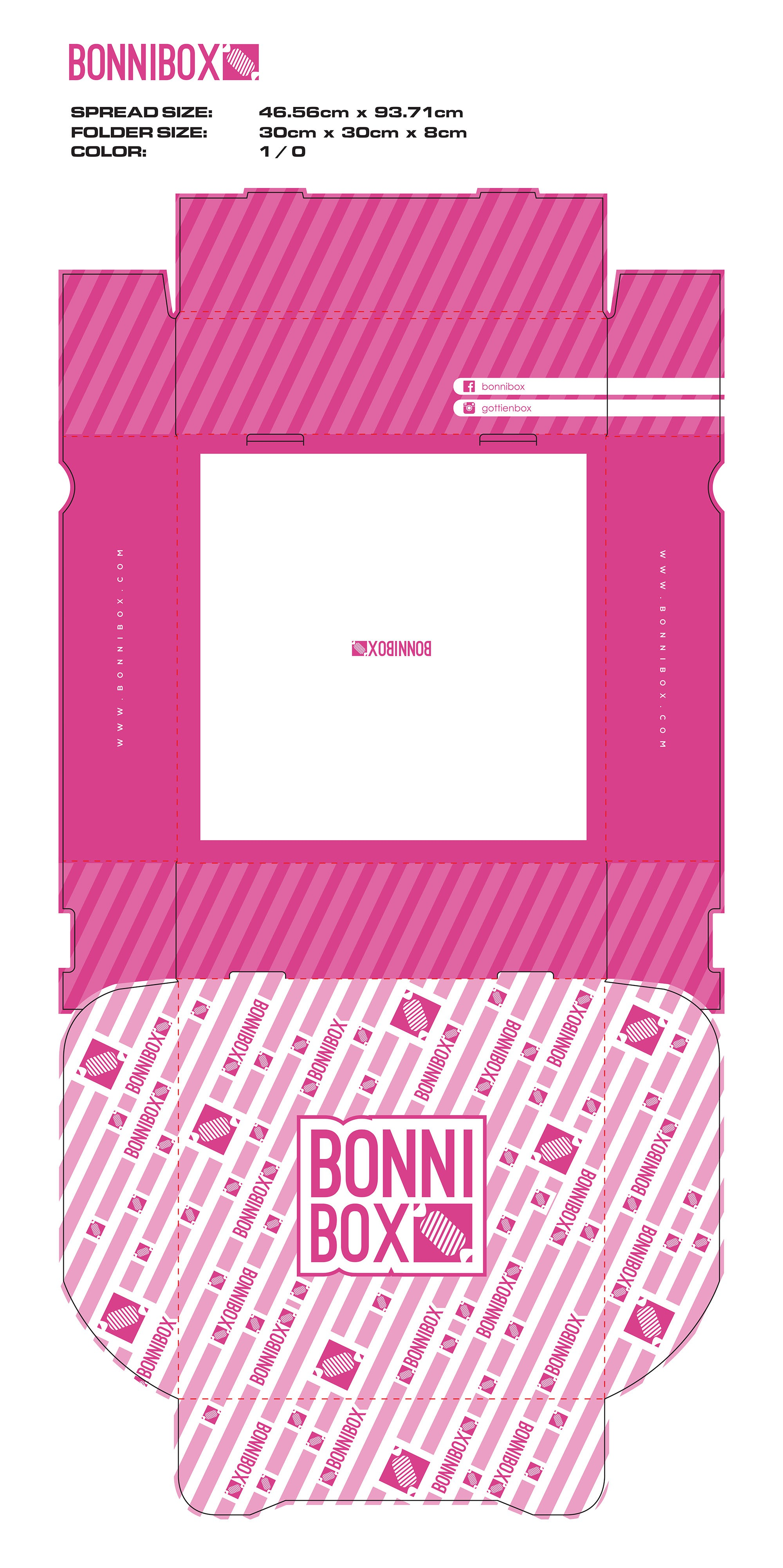 Bonnibox - clean candy box
