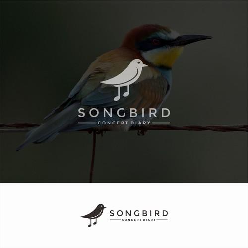 Modern & Youthful logo for songbird