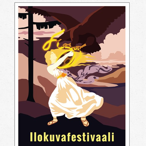 Finnisches Vintage Festival Plakat
