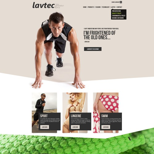 Lavtec Website Design