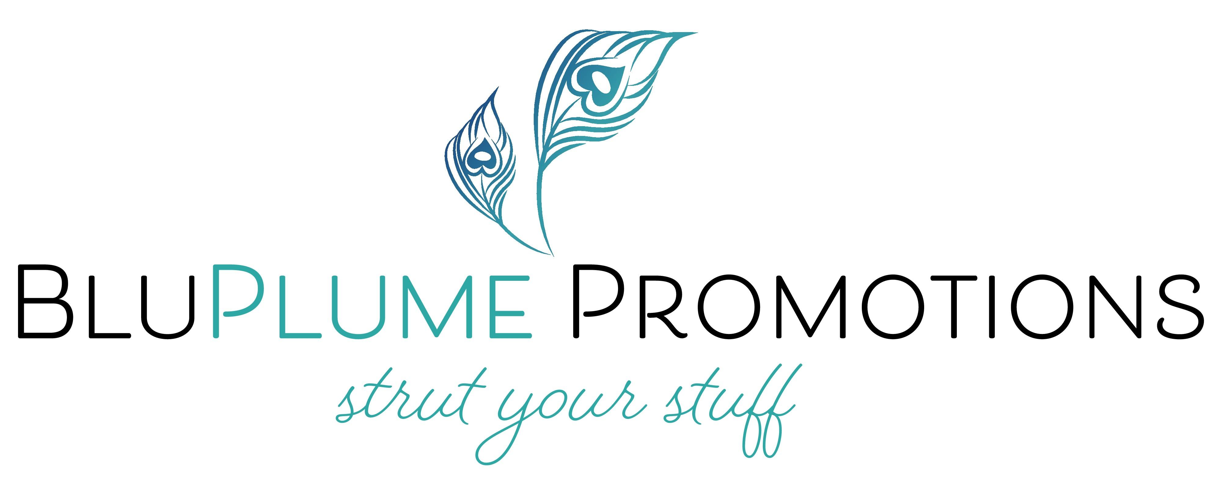 Create a captivating logo and website for a marketing company, BluPlume