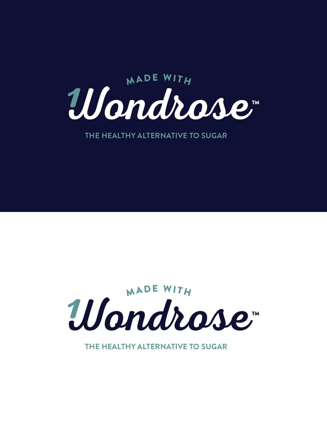 "Logo and ""Made With"" Badge Needed for Wondrose - the healthy, natural sweetener."